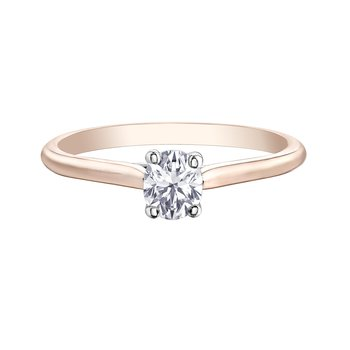 Oval Cut Diamond Set Engagement Ring