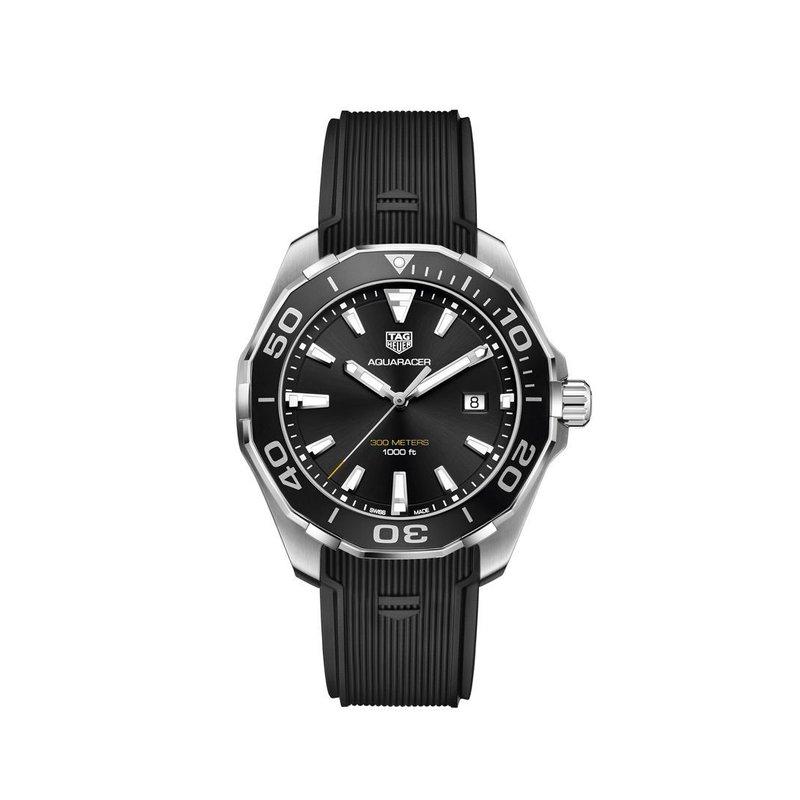 TAG Heuer AQUARACER Quartz Watch - Diameter 43 mm WAY101A.FT6141