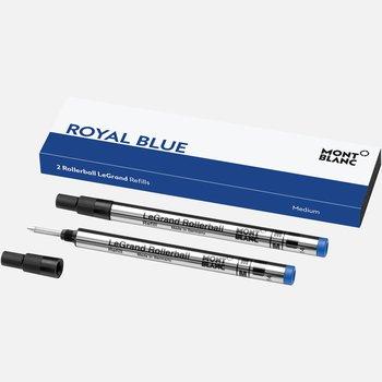 2 Rollerball LeGrand Refills Medium, Royal Blue