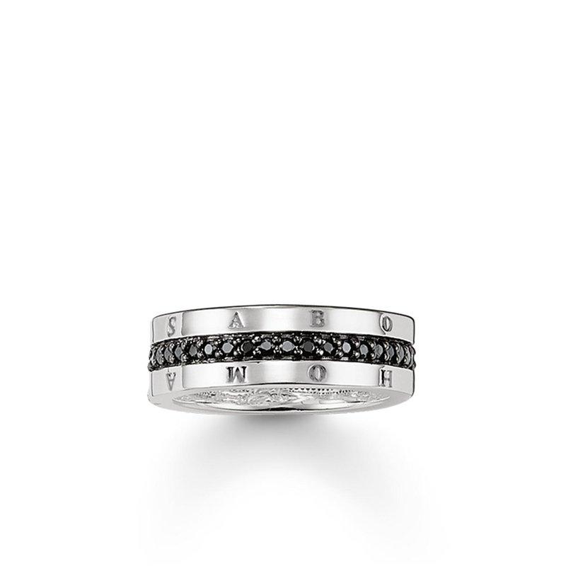 Thomas Sabo Black Zirconia Eternity Ring