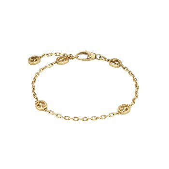 Interlocking G 18k bracelet