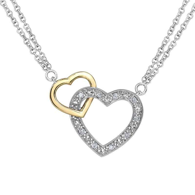 Ashley Ladies Heart Necklace