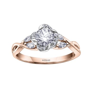 .71CT TOTAL WEIGHT ENGAGEMENT RING
