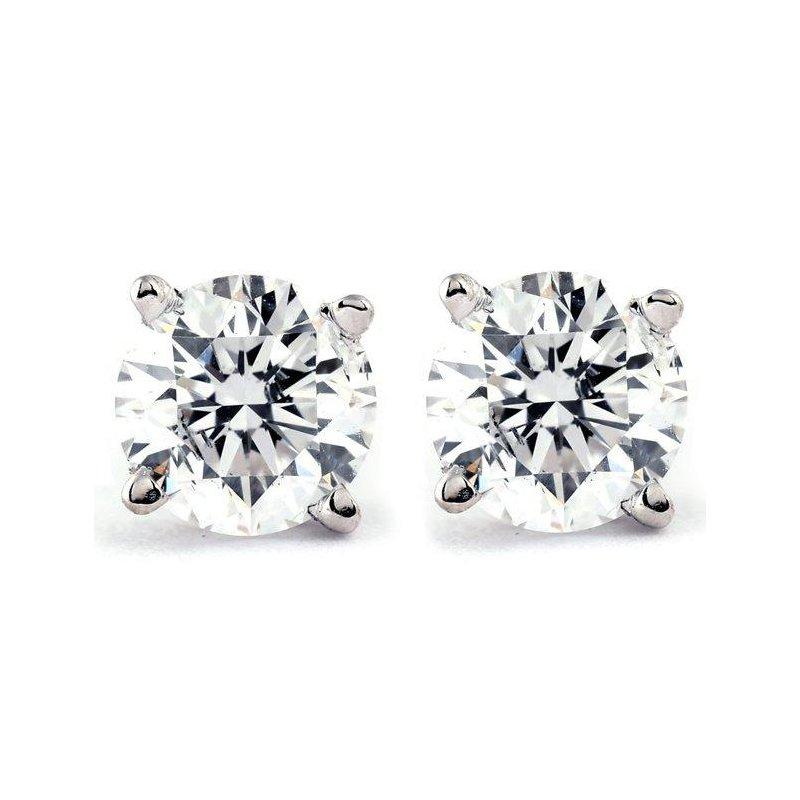 Ashley Estate Diamond Stud Earrings .35carat TW