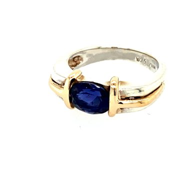 Ladies Iolite Ring