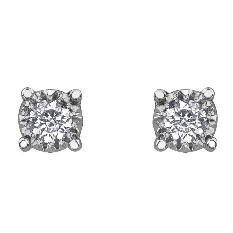 Ashley Small Diamond Studs