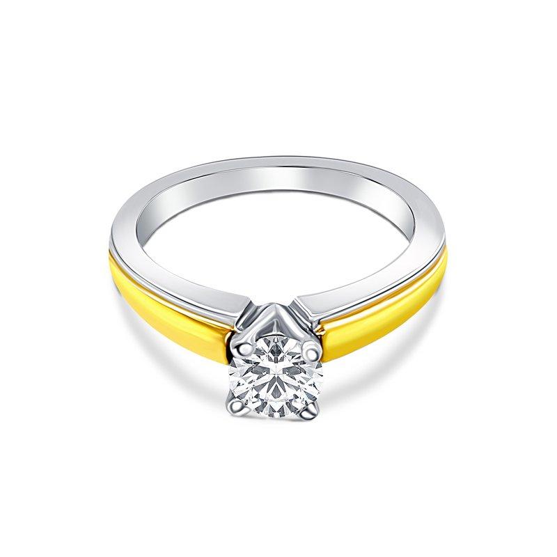Ashley Scott Kay Semi-Mount Engagement Ring