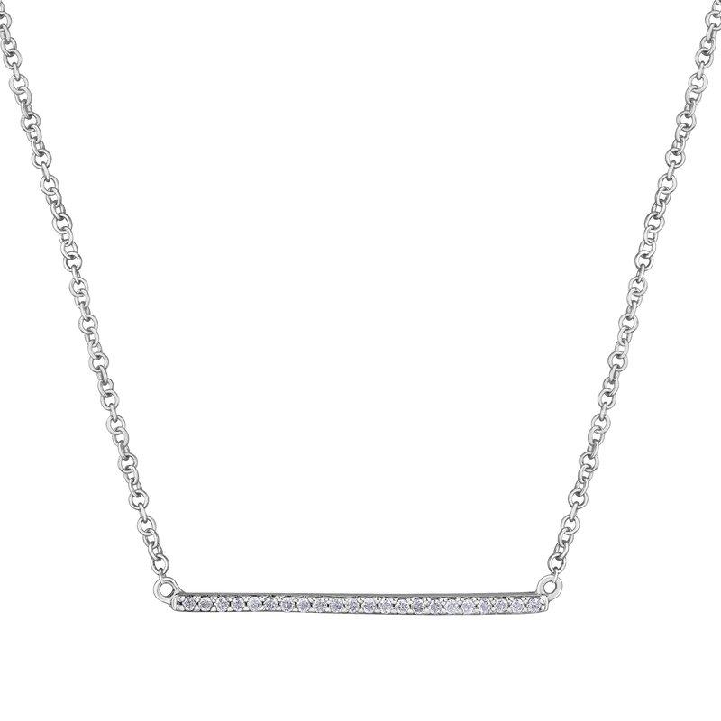 Ashley Diamond Bar Necklace