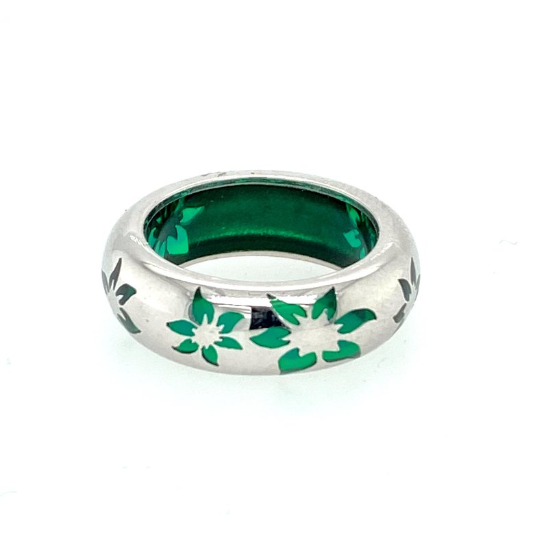 Ashley Green Resin Ring