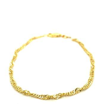 Ladies Yellow Gold Bracelet