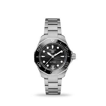 Aquaracer Professional 300 Automatic Black Dial 36mm Bracelet WBP231D.BA0626