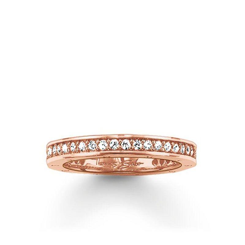 Thomas Sabo Zirconia Eternity Ring