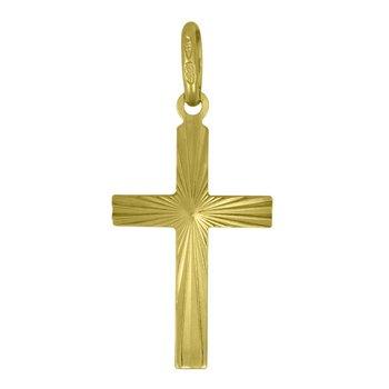 Yellow Gold Cross