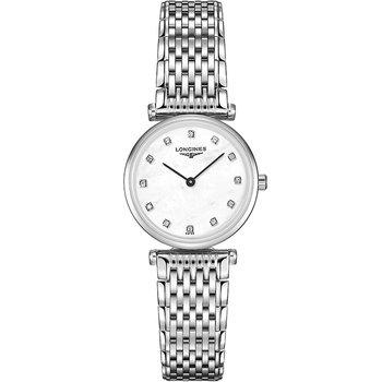 La Grande Classique de Longines Quartz Mother of pearl Dial Diamond Indexes Ladies Watch L42094876