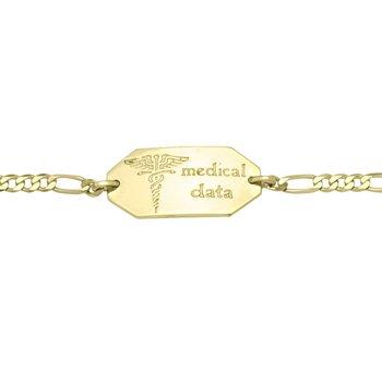 Ladies Medical Alert Bracelet