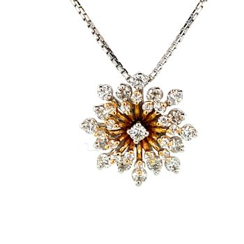 Vintage Starburst Necklace