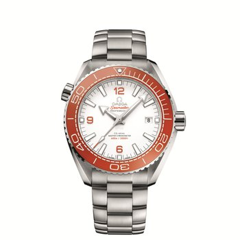 PLANET OCEAN 600M OMEGA CO-AXIAL MASTER CHRONOMETER 43.5 MM SEAMASTER Steel on steel Reference 215.30.44.21.04.001