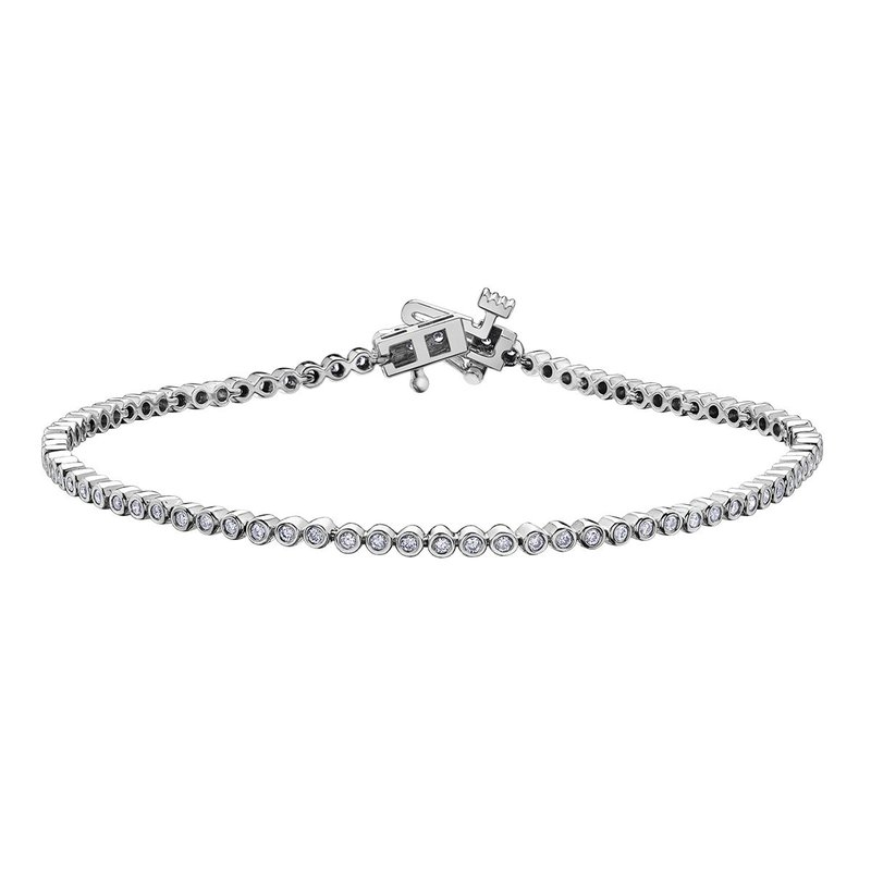 Ashley Bezel Set Diamond Bracelet