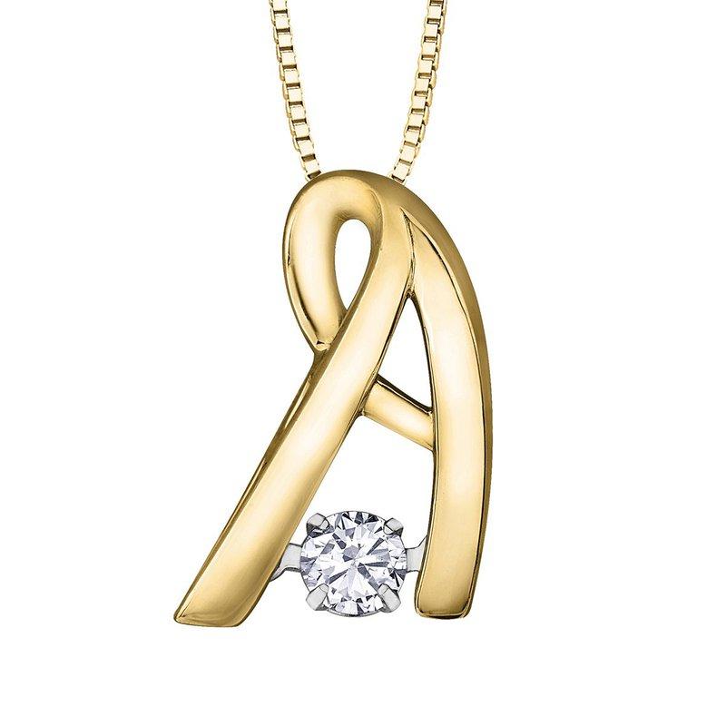 Ashley Diamond Pulse Necklace