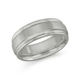 8mm Tungsten Wedding Band Size 12