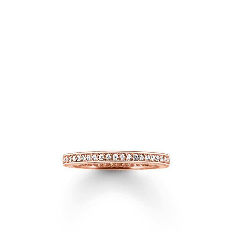 Thomas Sabo Eternity Pave Ring