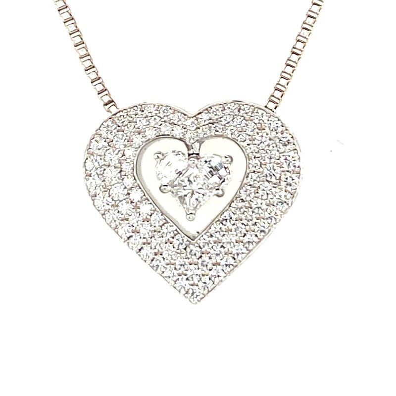 Ashley Lady Heart Necklace