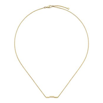 Link To Love 18kt Yellow gold Necklace YBB662108001