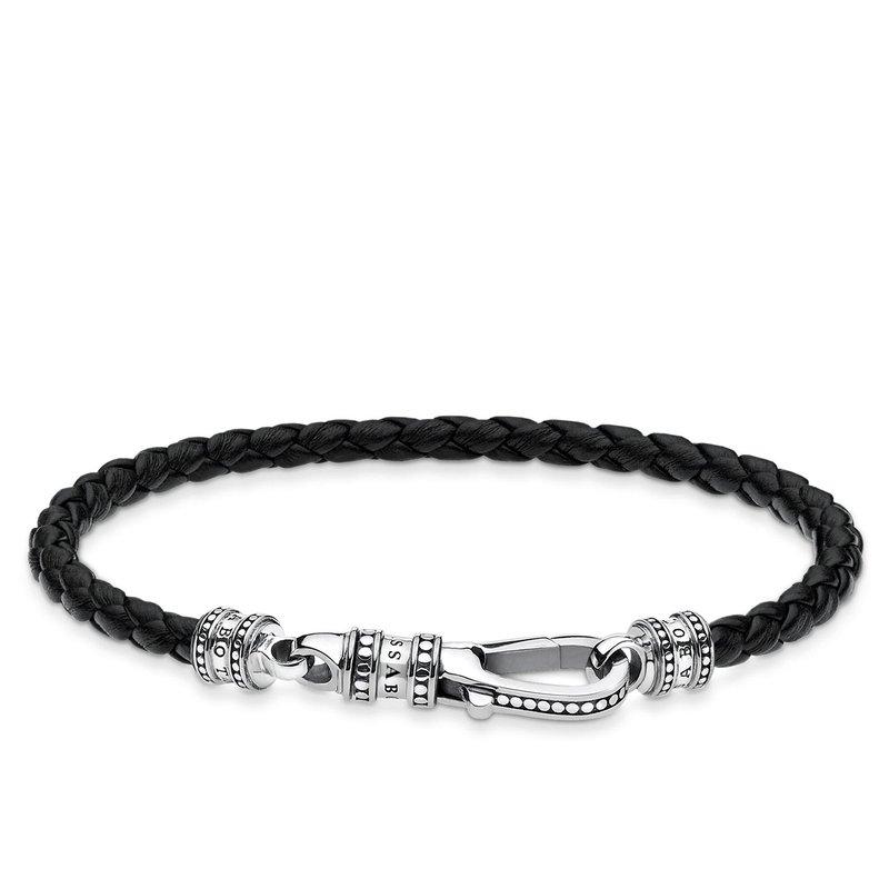 Thomas Sabo Leather Braided Bracelet