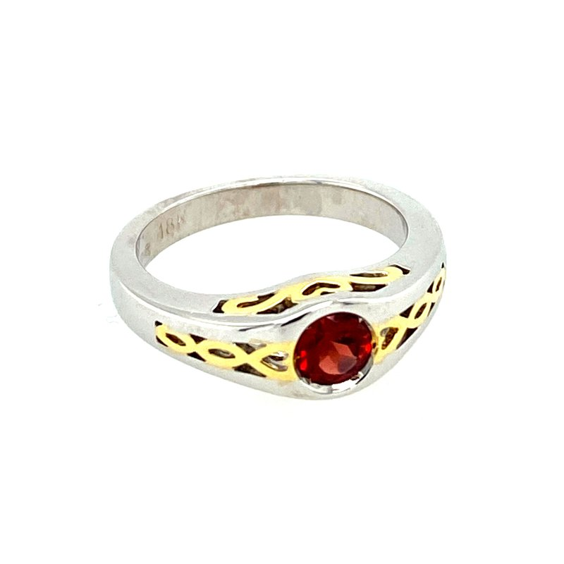 Ashley Ladies Garnet Ring