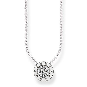 Classic Pave Necklace