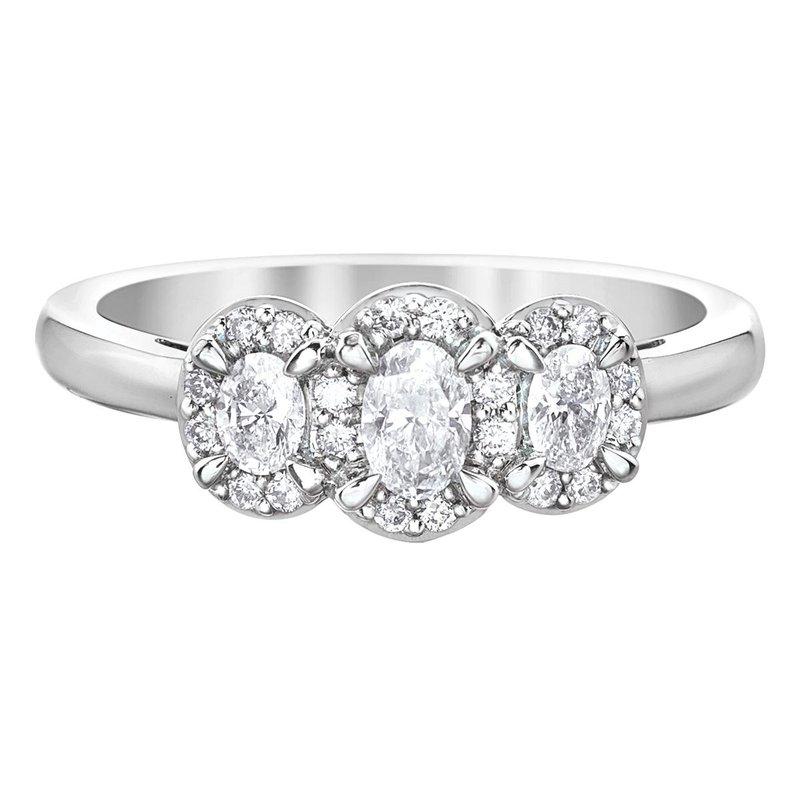 Ashley Oval Shaped Engagement Ring