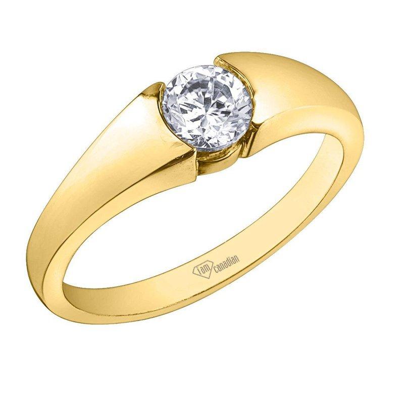 I Am Canadian Diamond ring.