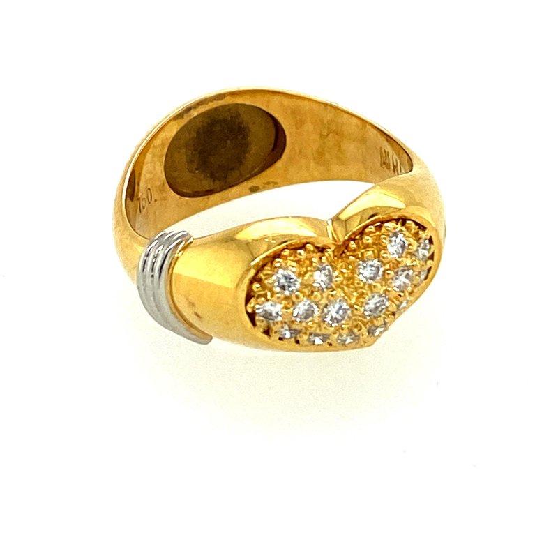 Ashley Ladies Heart Shaped Ring