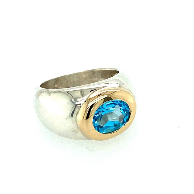 Ashley Ladies Blue Topaz Ring