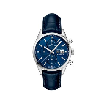 Carrera 41mm Calibre 16 automatic chronograph