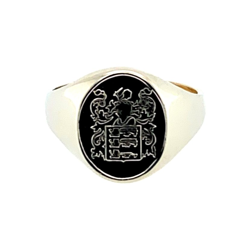 Ashley Coat of Arms Ring