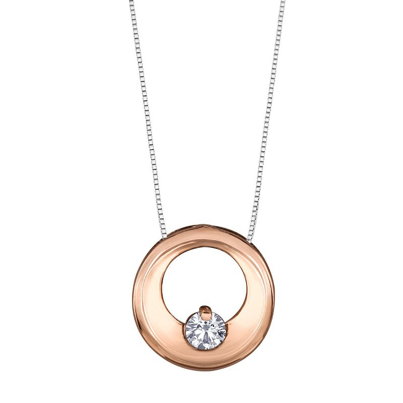 I Am Canadian Canadian Diamond Necklace