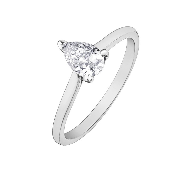 Ashley Pear Shaped Solitare Ring