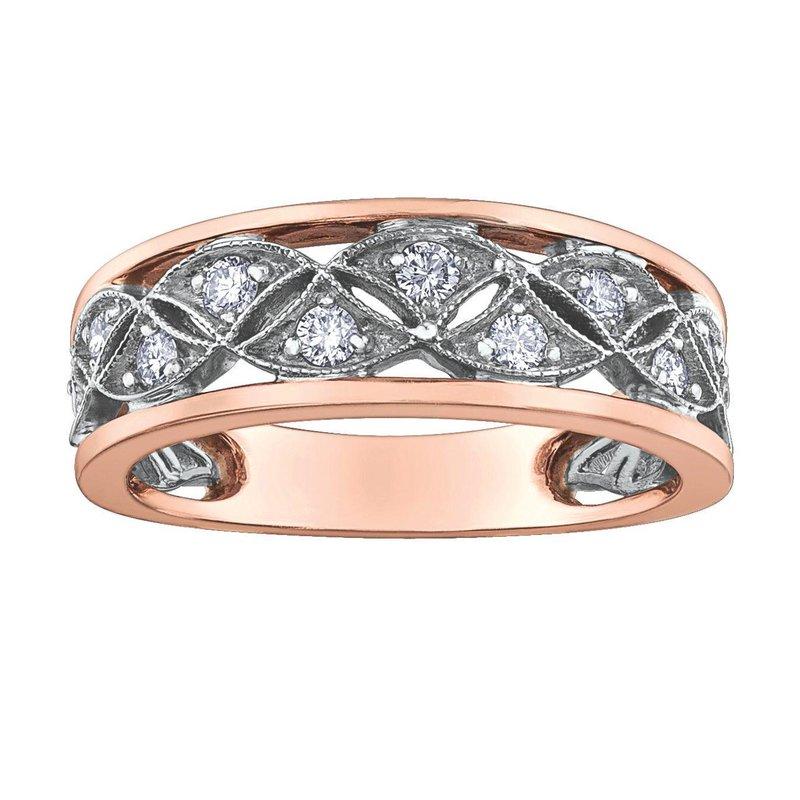 Ashley Rose & White Gold Diamond Ring