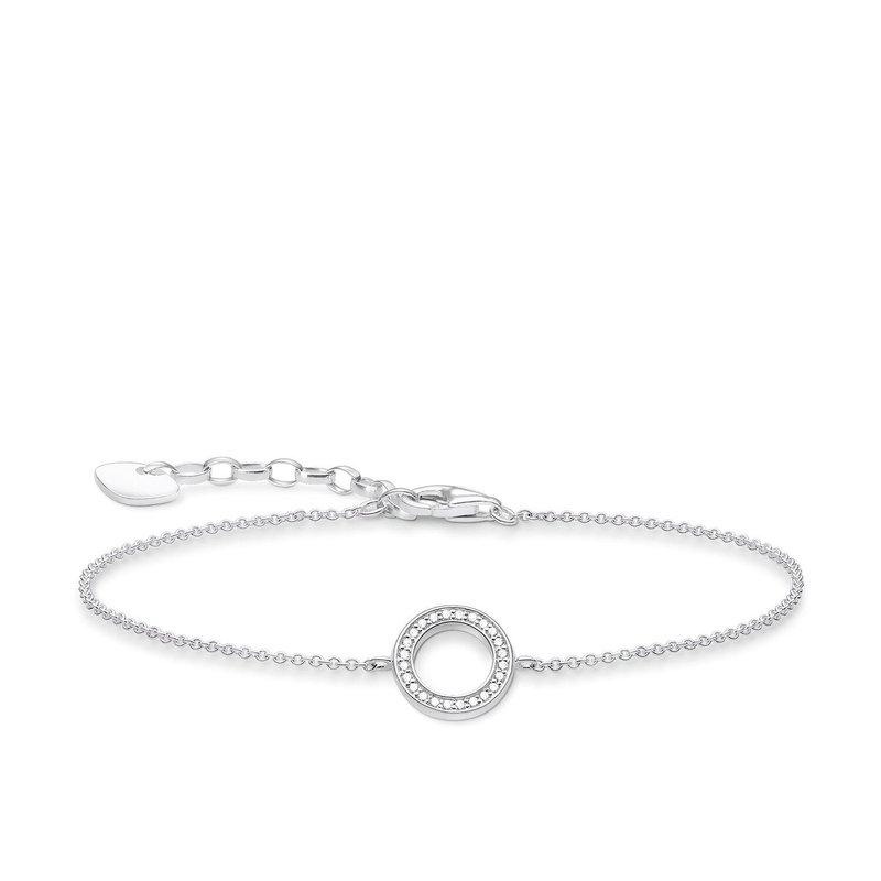 Thomas Sabo Zirconia Circle Bracelet A1652-051-14-L19V
