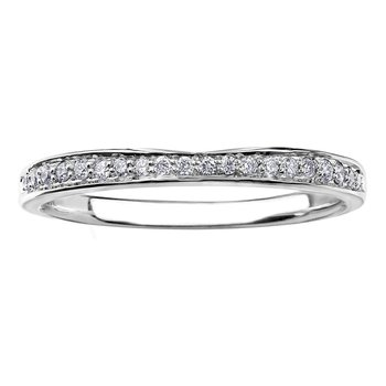 Diamond Set Wedding Band