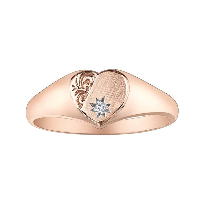 Ashley Rose Gold Signet Ring