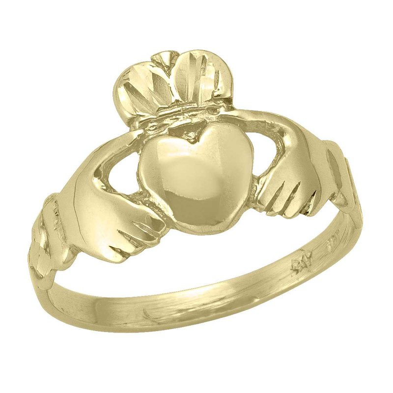 Ashley Ladies Claddagh Ring