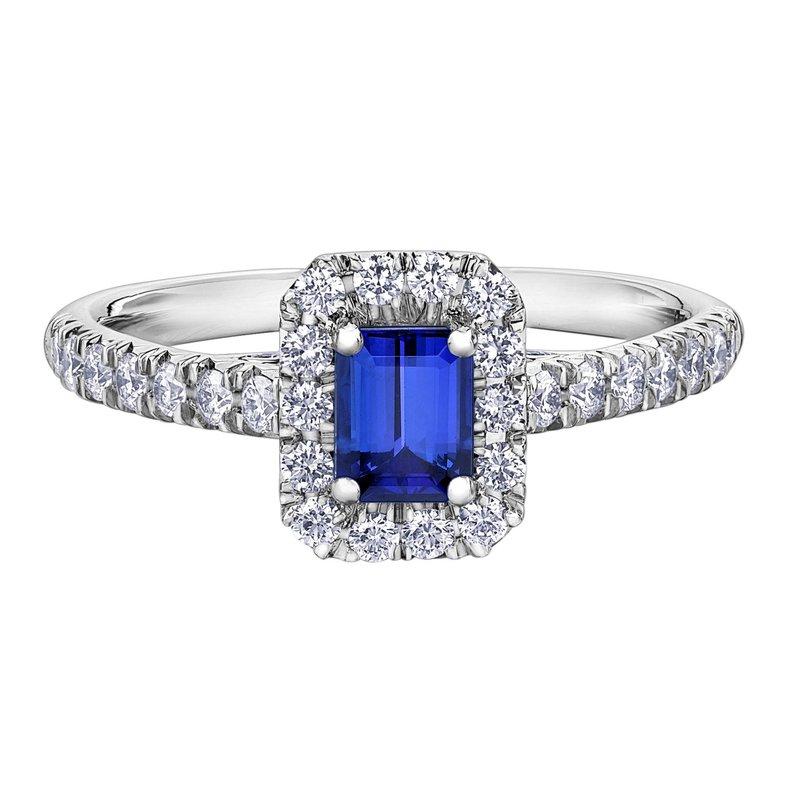 Ashley Ladies Sapphire & Diamond Ring