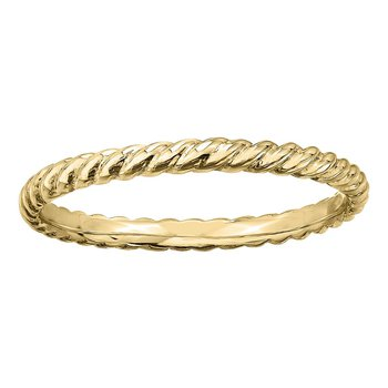 Ladies Yellow Gold Band