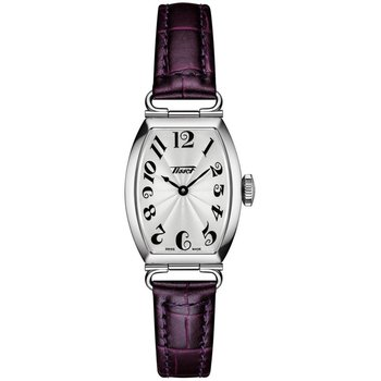 Heritage Porto Small Lady Purple Leather Strap T1281091603200