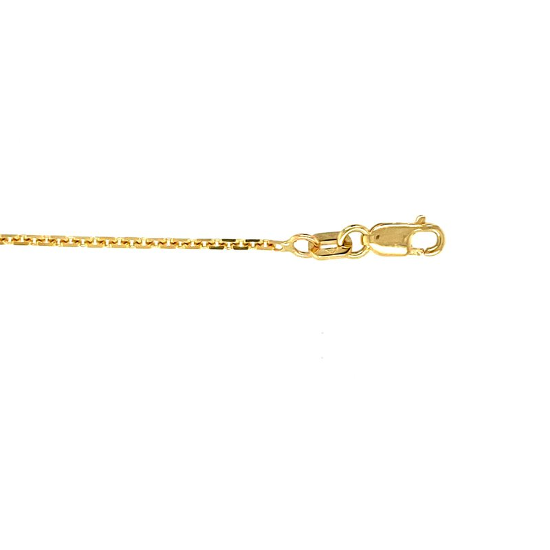 """Ashley 1.5mm Oval Link Chain in 14kt Gold - 20"""""""