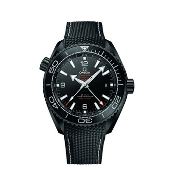 SEAMASTER PLANET OCEAN 600M OMEGA CO-AXIAL MASTER CHRONOMETER GMT 45.5 MM Deep Black