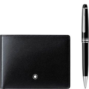 Meisterstuck Ballpoint Pen and 6CC Wallet Set