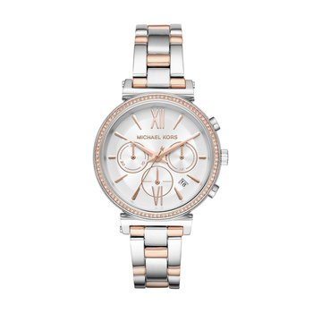 Sofie Pave Two Tone Watch